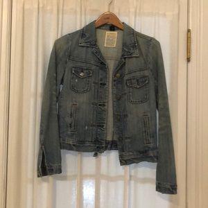 J. Crew jean jacket, like new